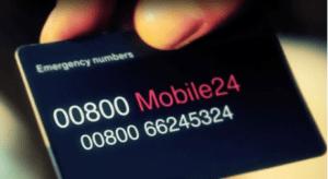 Mobile24 Assistenza non stop