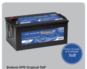 Batteria daf genuine efb