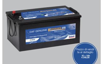 Promo Batterie EFB Originali DAF