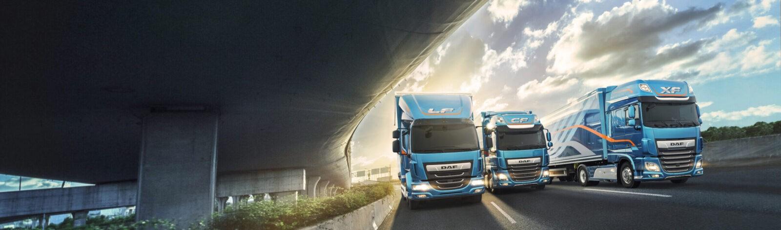 Gamma modelli DAF. Officina autorizzata DAF Truck Florence